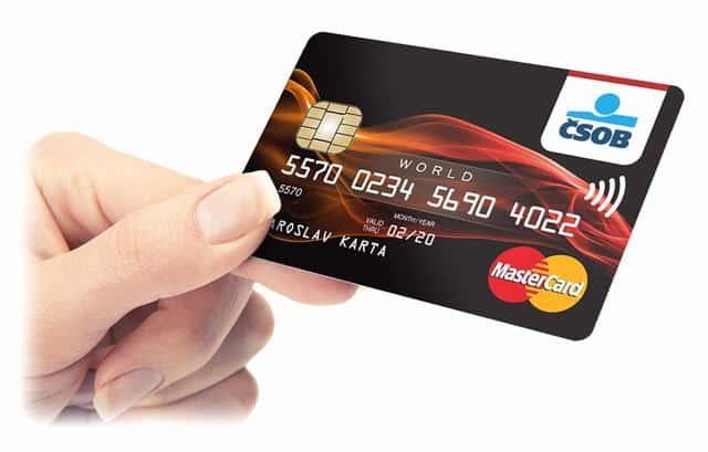 Kreditní karta ČSOB