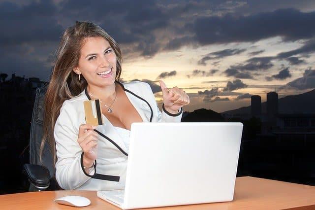 Kreditka na internetu